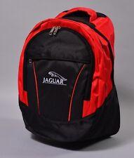 NEW JAGUAR BLACK BACKPACK BAG