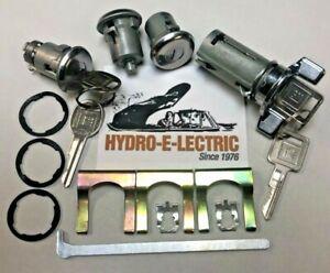 NEW 1979-1991 Chevrolet Impala & Caprice Ignition, Door & Trunk Lock Set-GM Keys