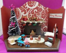Dollhouse Miniature 1:12 Scale  After Christmas Roombox