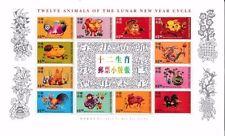 Decimal Asian Stamp Blocks