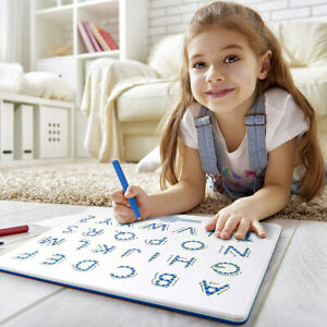 AM_ BP_ WO_ ABC LETTERS KIDS MAGNETIC DRAWING BOARD LEARNING EDUCATION ERASABLE