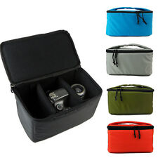 New Waterproof SLR DSLR Camera Bag Insert Handbag Organizer Case Partition Bag