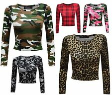 Unbranded Animal Print Casual Tops & Shirts for Women