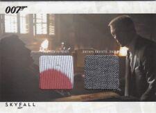 James Bond Autographs & Relics SCDC1 James Bond & Ronson Dual Relic Card Variant