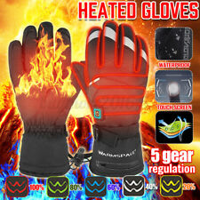 Outdoor Electric Motorcycle Heated Gloves Winter Warmer Touch Screen Skiing