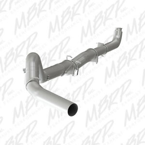 "MBRP 5"" Exhaust Down Pipe Back 01-07 Duramax 6.6L S60200PLM No Muffler"