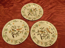 "Andrea By Sadek 2 Birds on Fruit Tree 10"" Plate Home Decor ( Set of 3 Plates )"