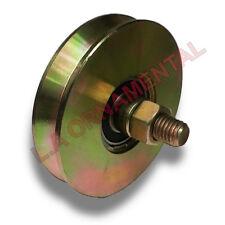 """3"""" Inch Steel V Groove Wheel V Groove Gate Wheel Single Bearing Slide Gate Wheel"""