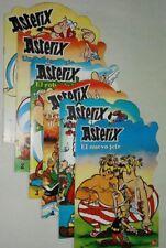 ASTERIX,  LOTE DE 6 CUENTOS COLECCION COMPLETA !!!!!!!!!!!!!! 1981 NUEVOS !!!!