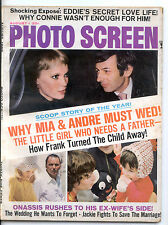 Photo Screen August 1969 (8/69) - Complete Issue