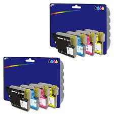 8 Tinta - Cartuchos De Tinta Compatibles para Brother MFC-J430W [LC1280]