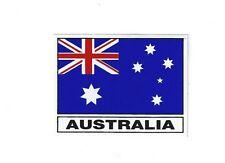 SMALLER AUSTRALIAN FLAG STICKER BUY 2 GET 1 FREE   8.5 CMS X 6.5 CMS