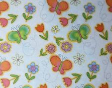 Tissue Paper / Gift Paper - Butterflies and Flowers