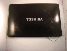 TOSHIBA SATELLITE PRO L650 Geniune Lcd Tapa Superior Cubierta posterior (leer descripción) -1127