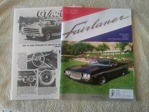 FORD FAIRLANE TORINO Club of America FAIRLANER Magazine Newsletter May June 2019