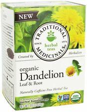 Dandelion Leaf & Root Tea by Traditional Medicinals, 16 tea bag 1 Box