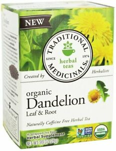 Dandelion Leaf & Root Tea by Traditional Medicinals, 16 tea bag 1 Box