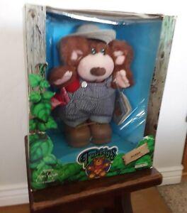 "NEW PICS1985 Furskins Xavier Roberts Stuffed Plush Bubba Teddy Bear 16"" with tag"