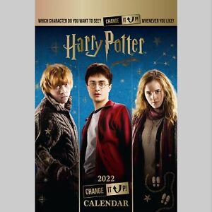 Harry Potter Change It Up 2022 A3 Wall Calendar