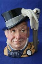 ROYAL DOULTON MR MICAWBER STYLE TWO LTD ED 2,500 LARGE CHARACTER JUG D7040