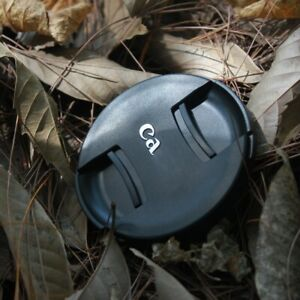 NEW Generation Canon Snap On Front Lens Cap ABS Dust-proof Lens Cover 49mm