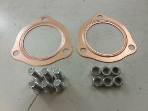 """Exhaust Headers 3 Bolts Collector Gaskets by Pair 2.5"""" Cooper"""