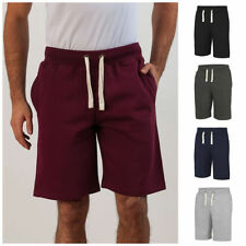 Cotton Blend Patternless Casual Men's Shorts