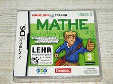 Nintendo DS Cornelsen Trainer Mathe Klasse 5 **NEU**