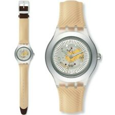 Swatch Irony Automatik Uhr SINGLE MALT, Automatic Diaphane, SVDK1010 Neu mit OVP