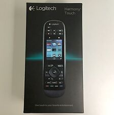 Logitech Harmony Touch Universal Remote with Color Touchscreen Black 915-000198