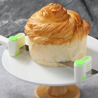 Pro Cutter Leveler Kuchen Gebäck Bake 2x Küche DIY Fixator Gadget New