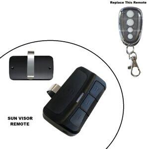 Sun Visor Remote Control Suits Napoleon NGD White Button RDO12 SDO800 Garage