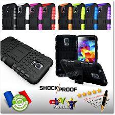 Etui Coque housse Antichocs Shockproof Hybrid Case Samsung Galaxy S5 S5 new neo