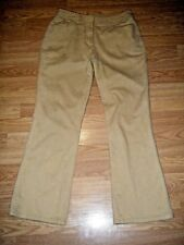 CHIC0'S TAN STRETCH COTTON BOOTCUT JEANS SIZE CHICO'S 0s