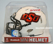 OKLAHOMA STATE COWBOYS (2016 White Alternate) Riddell Speed Mini Helmet