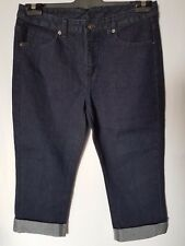 "WOMEN'S JEANS GIORDANO CROP SLIM STRETCH SIZE 10 LEG 19"" NEW FREE POSTAGE"