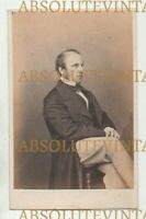 POLITICAL CDV PHOTO LORD CANNING GOVERNOR-GENERAL OF INDIA MAYALL ANTIQUE 1860S