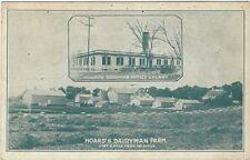 1920's postcard- Hoard's Dairyman Farm, Fort Atkinson, Wisconsin