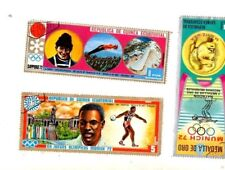 Equatorial Guinea Large Stamps. Munich Olympics 1972 gold medal Spitz USA etc