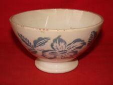 Ancien bol en faience de Sarreguemines & Digoin décor pochoir - Céramique