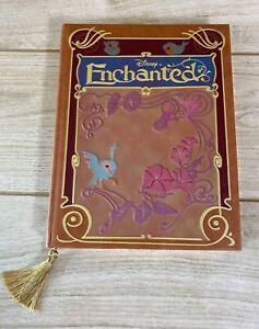 NEW Disney Store ENCHANTED A4 Replica Storybook Hardback Journal Notebook