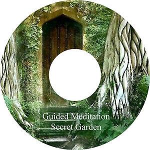 Guided Meditation Secret Garden & Bonus Music Track CD Relaxation Stress Relief