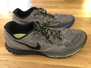 Nike Air Zoom Terra Kiger 3 Cool Gray Trail Running Shoes 749334-001 Mens 14