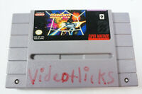 Warp Speed Super Nintendo Entertainment SNES System Game Cart Only Tested