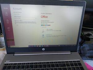 "HP 450 G5 15.6"" 256gb SSD, Intel Core i5 8th Gen 8265U.12 gb, Special package"