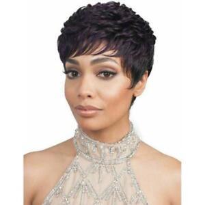 Bobbi Boss Premium Synthetic Short Hair Mommy Bang Hair Wig - M739 Cara