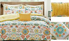 Twin Comforter Set for Teen Girls Bedding College Twin XL Bedroom Floral 4 Pcs