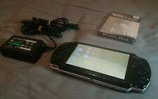PSP SLIM 2004 NEGRO COMPLETO + 15 JUEGOS [LEER ANUNCIO]