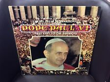 Pope Paul VI First Visit to the Americas LP Bell VG+ Top Hit: The Sound of News