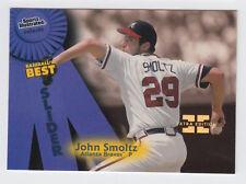 1998 FLEER SPORTS ILLUSTRATED JOHN SMOLTZ FIRST EDITION MASTERPIECE 1/1 CARD 141